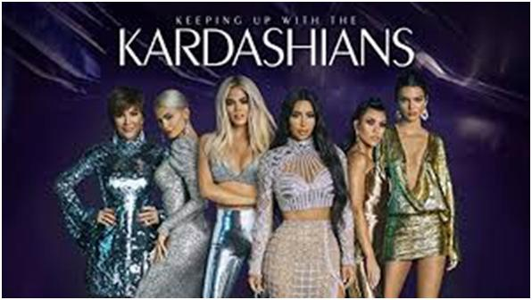 Poster de la serie de realitu show Keeping up with the Kardashians