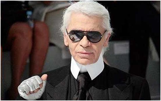 """""""Diseñador Karl Lagerfeld"""