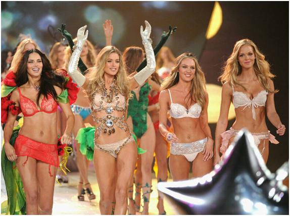 Modelos de Victoria's Secrets.