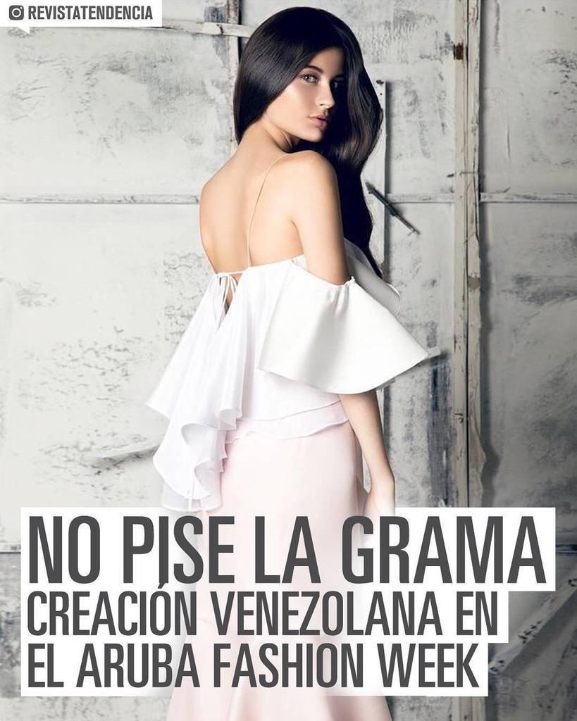 Moda Venezolana No pise la grama