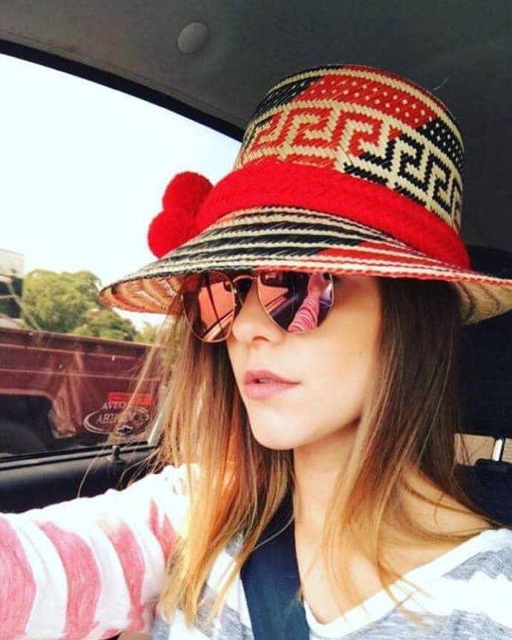 Moda Venezolana Sombrero Wayuu Love