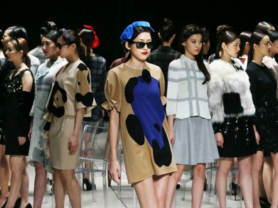 Tokyio Fashion Week Desfiles