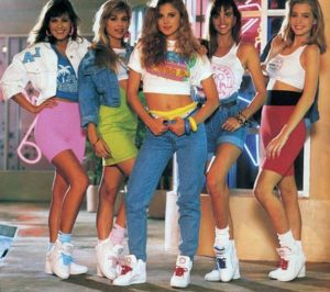 La Moda en los años 80's