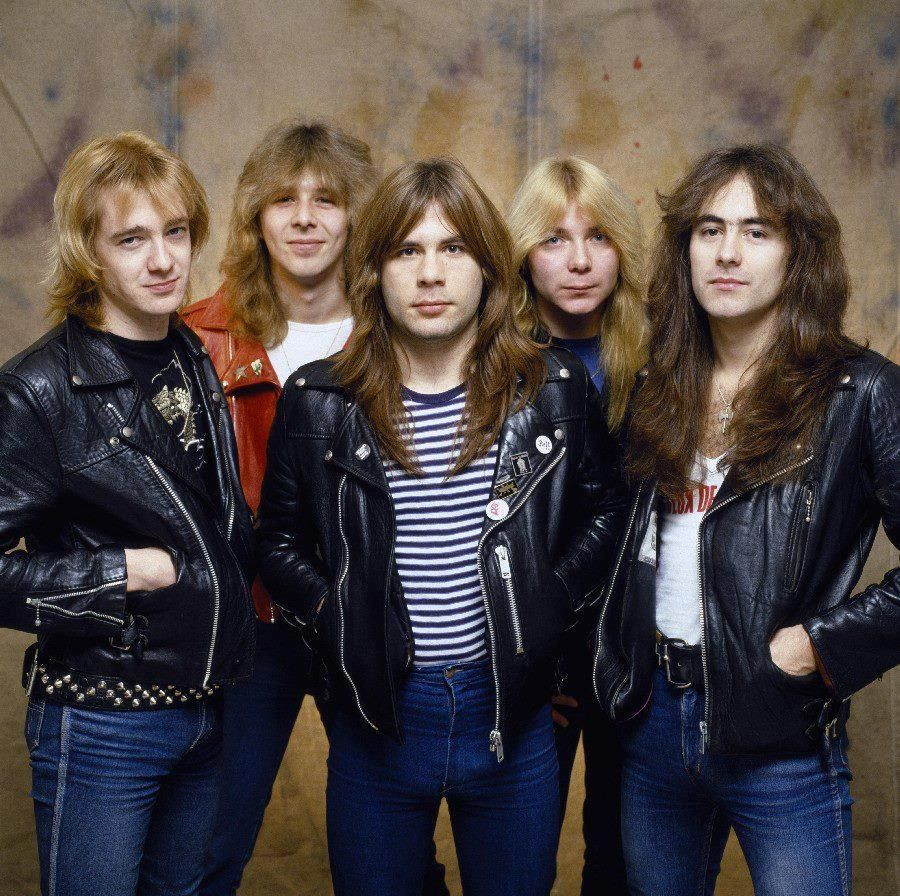 Moda 80s Iron Maiden