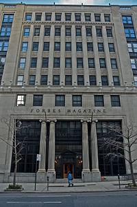 Sede de Forbes en NYC