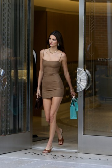 Kendall Jenner en Rodeo Drive