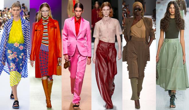 Colores y Tendencias de la Moda en el 2019