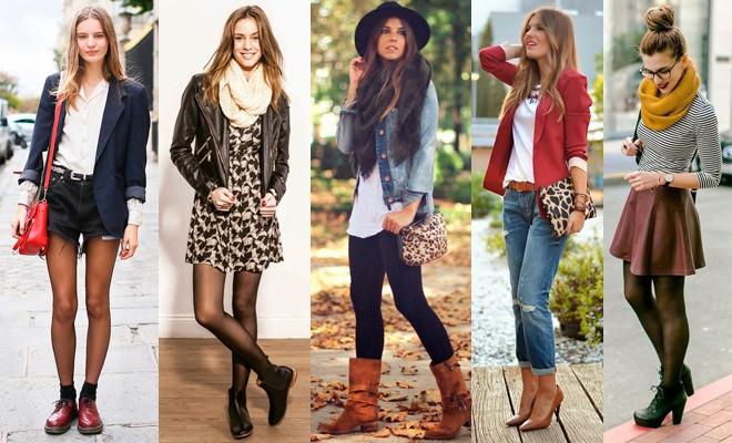 Chicas con combinación de ropa.