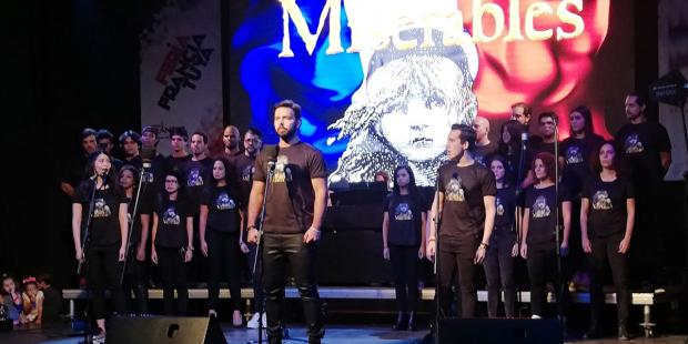 Los Miserables en la Semana de Francia  2019