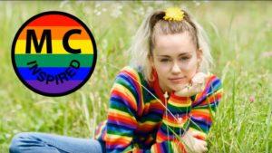 Miley Cyrus defensora de jóvenes vulnerables