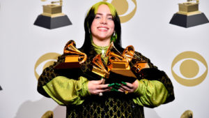 La victoriosa Billie Eilish y lo mejor del Grammy Awards
