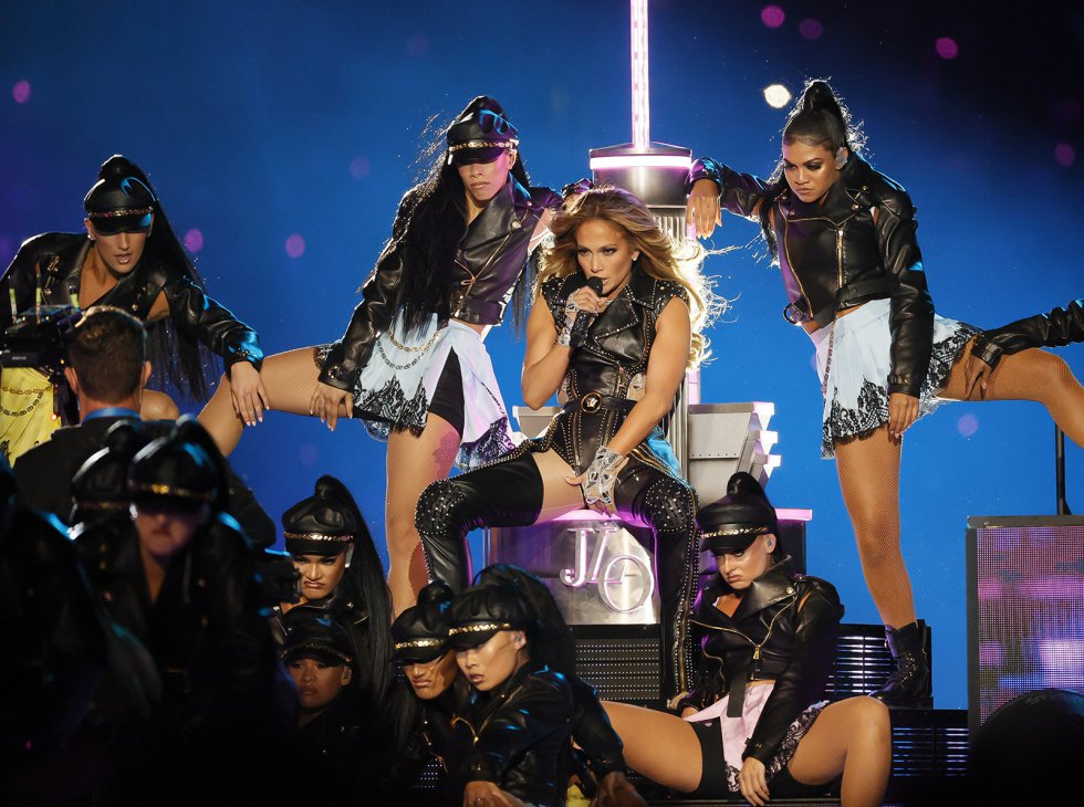 JLo en el Super Bowl 2020