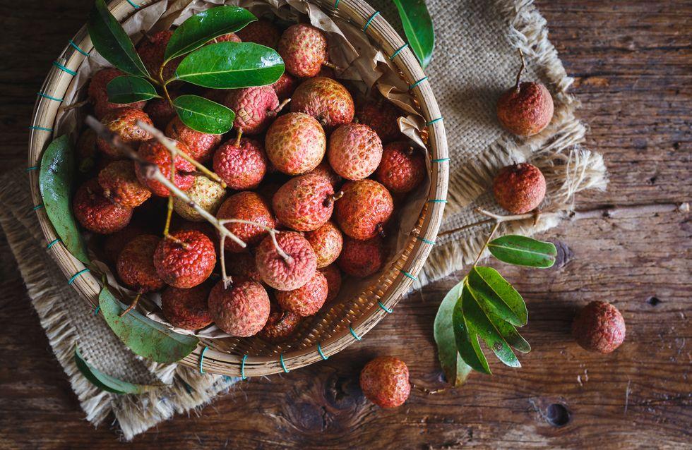 El lichi, una fruta exótica con propiedades nutricionales y de salud