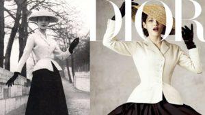New Look, la icónica chaqueta Bar de Christian Dior
