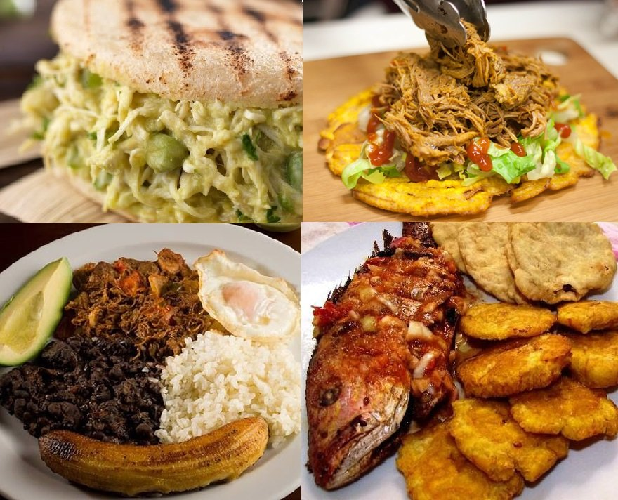 Comida tradicional venezolana
