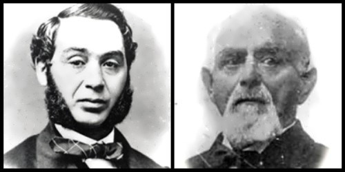 Levi Strauss y Jacob Davis