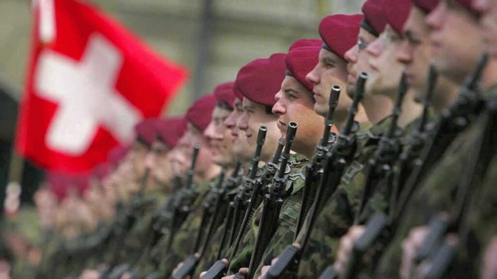 Soldados suizos