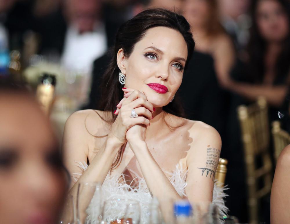Donaciones de Angelina Jolie