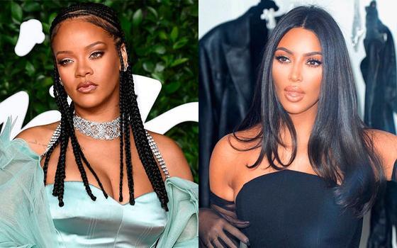 Rihanna y KimKardashian