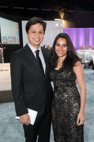 Ben Silbermann, y su esposa Divya