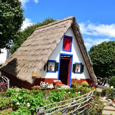 Casas de techo de paja