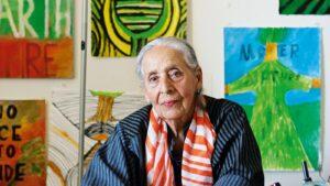Luchita Hurtado, la pintora venezolana más influyente según el top 100 de Times