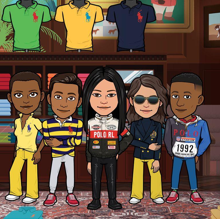 Ralph Lauren y Snapchat