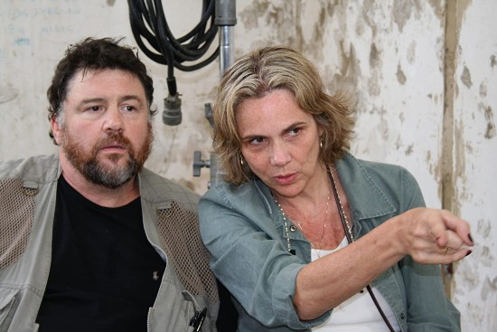 Elia Schneider y josé Ramón Novoa