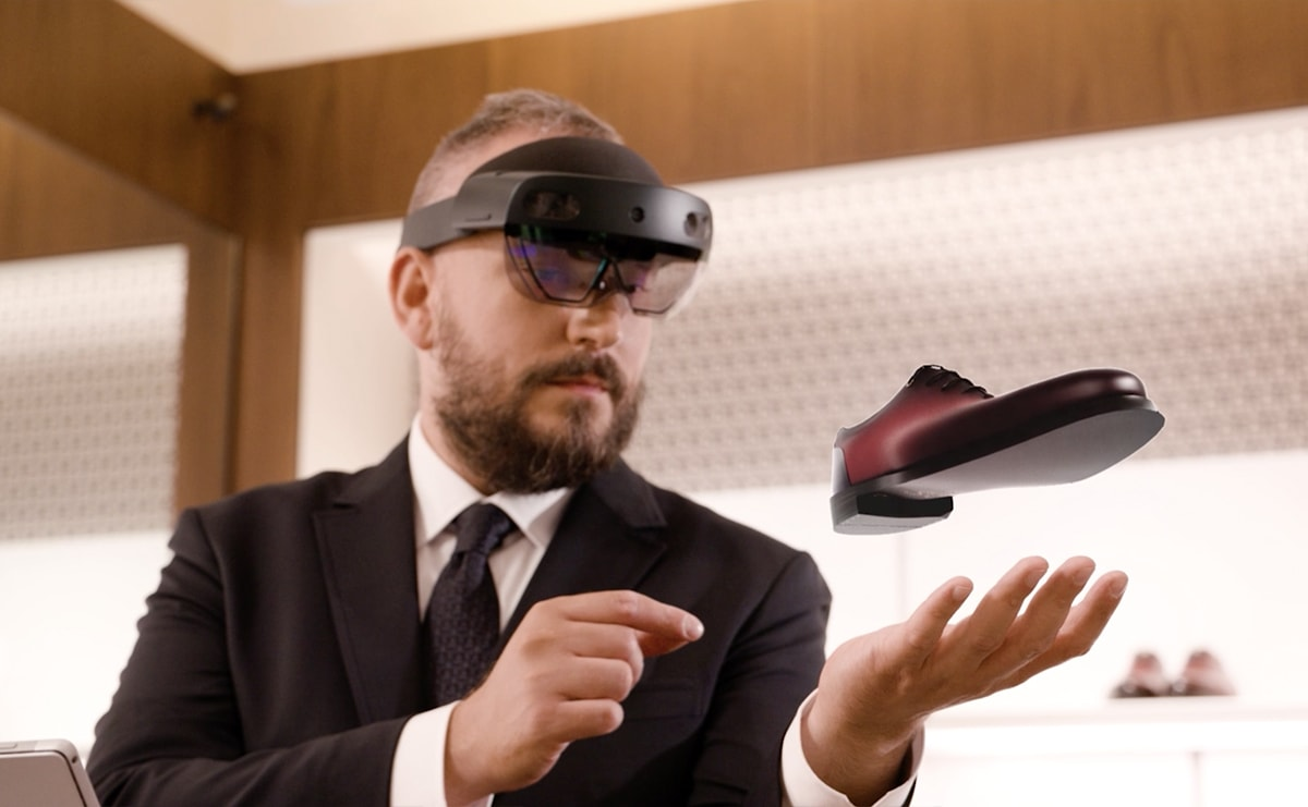 Salvatore Ferragamo y Microsoft