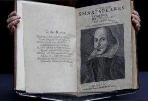 """""""First folio"""" de William Shakespeare fue hallado en Escocia"""