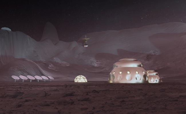 Una ciudad en Marte
