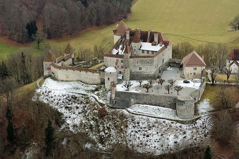 Castillo de Gruyères