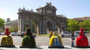 Las Meninas de Velásquez se apoderan de las calles de Madrid