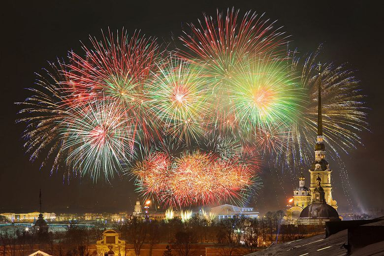 Navidad en San Petersburgo