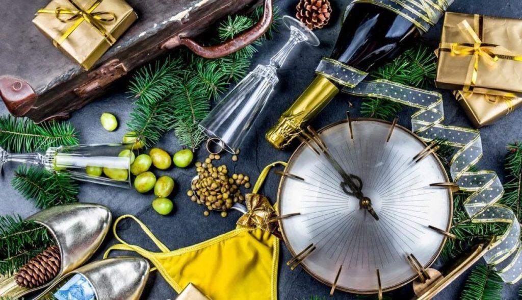 Tradiciones curiosas para celebrar el Año Nuevo