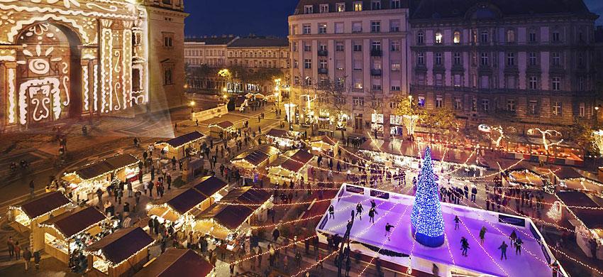 Navidad en Budapest