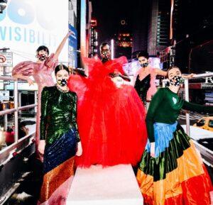 Carolina Herrera expresó su amor a la ciudad de Nueva York