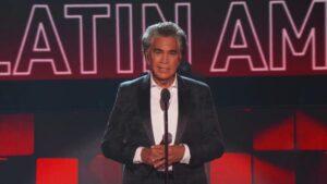 José Luis Rodríguez, 'El Puma', recibió el Premio Leyenda en el Latin American Music Awards 2021