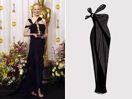 Nicole Kidman en la entrega de los Oscar de 2002