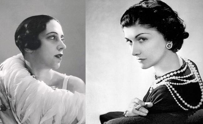 Elsa Shiaparelli y Coco Chanel