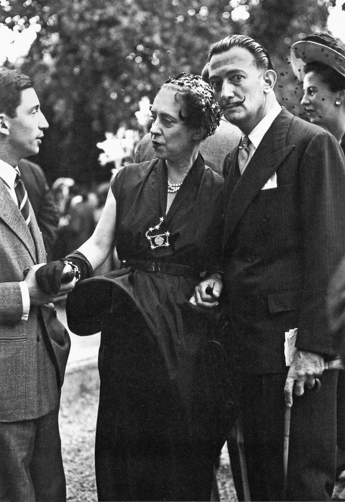 Elsa Shiaparelli y Salvador Dalí