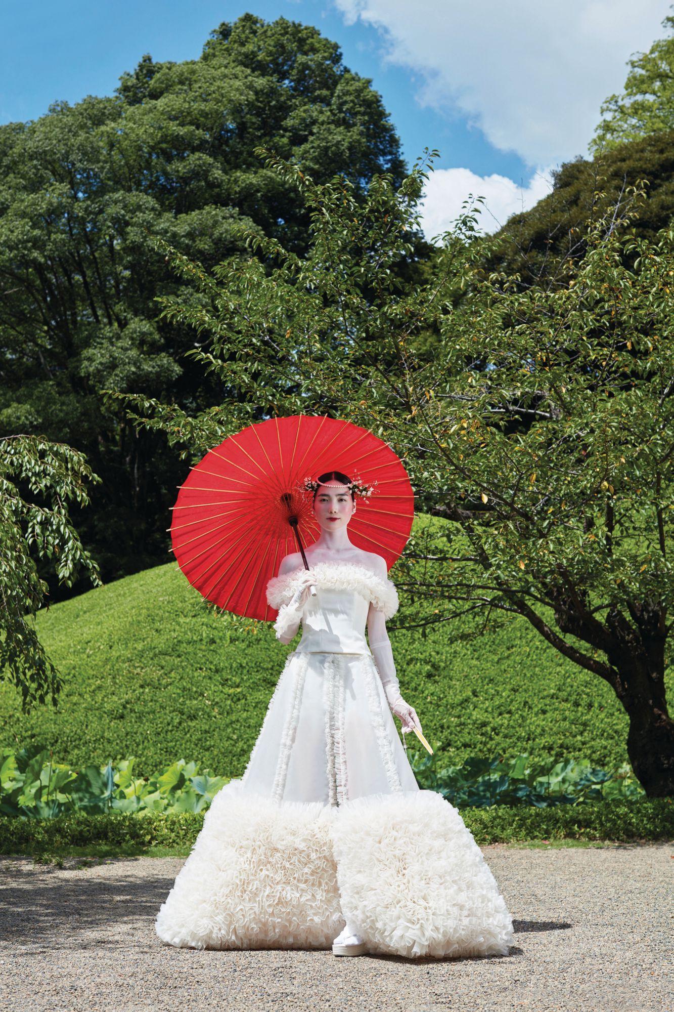 Vestido japones de Tomo Koizumi