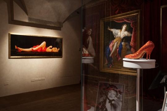 Los zapatos stiletto