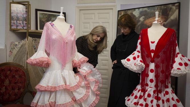Los vestidos flamencos de Lina