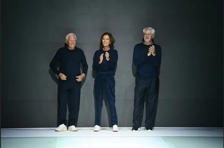 Emporio Armani celebró su 40° aniversario en Milán